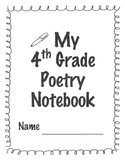 My 4th Grade Poetry Notebook