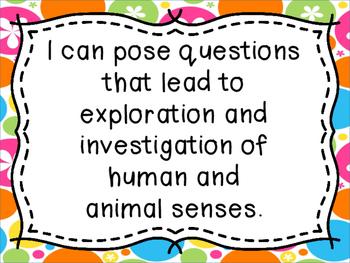My 5 Senses A Science Unit for Grade 1 - Saskatchewan