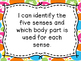 My 5 Senses A Science Unit for Grade 1 - Saskatchewan