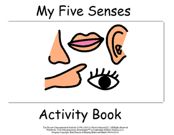My 5 Senses Activity Book
