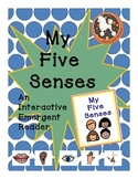 My 5 Senses...An Interactive Emergent Reader with Boardmaker Symbols