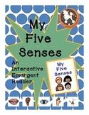 My 5 Senses...An Interactive Emergent Reader with Boardmak
