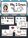 My 5 Senses {Book Box Book}