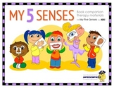 My Five Senses Book Companion Materials for Speech-Languag