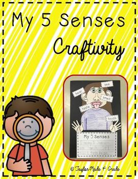 My 5 Senses Craftivitiy