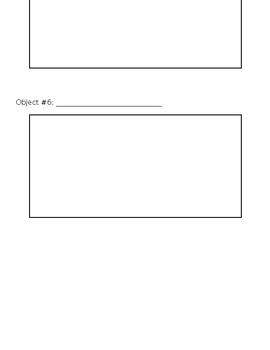 My 5 Senses Experiment Booklet