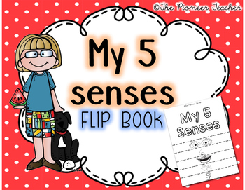 My 5 Senses Flip Book