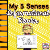 5 Senses - Informational Reader