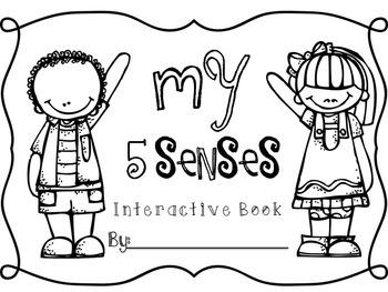 My 5 Senses Interactive Book