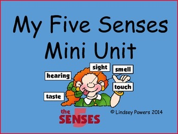 My 5 Senses Mini Unit
