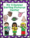 My 5 Senses Picture Sorting Center