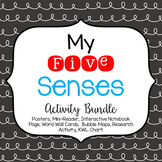 My 5 Senses Posters & Activity Bundle