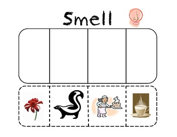 My 5 Senses Pratice and/or Science Journal Activities
