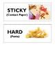 My 5 Senses, Word Cards