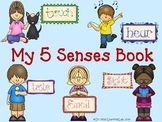 My 5 Senses (a book for early/emergent readers)