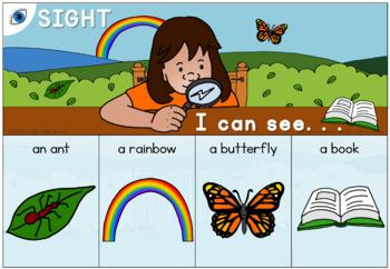 My 5 Senses activity