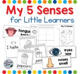 The 5 Senses Flip Books and Worksheet