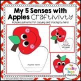 My 5 Senses with Apples Craftivity
