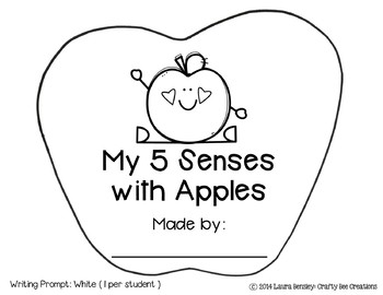 My 5 Senses with Apples Craftivity
