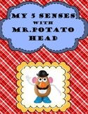My 5 Senses with Mr. Potato Head- Science, Art and Reading All In One