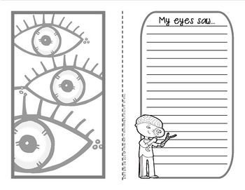 My 5 Senses {A nature experience recording booklet}