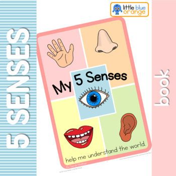 My 5 senses book