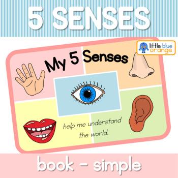 My 5 senses book (simplified version)