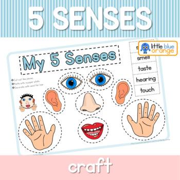 My 5 senses craft