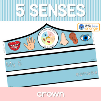 My 5 senses crown