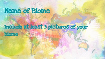 My 5th Grade Biome Book- Featuring ALL Organisms & Environments 5th Grade TEKS