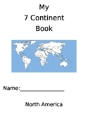 My 7 Continents Book with pictures