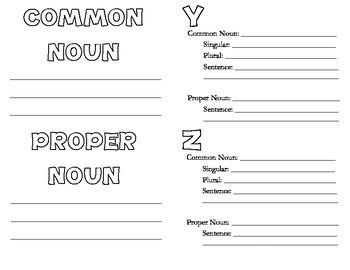 My A-Z Noun Book