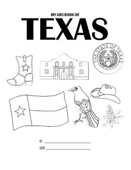 My ABC (A-Z) Book of Texas