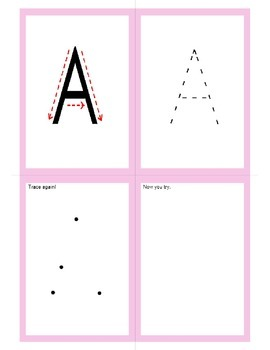 A-Z Beginners Writing CAPITAL LETTERS