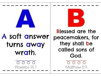 My ABC Bible Verses Mini Posters