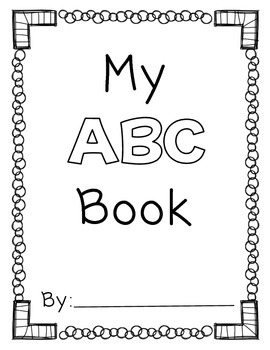 My Abc Book By Amanda Pauley Teachers Pay Teachers