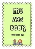 My 'ABC' Book