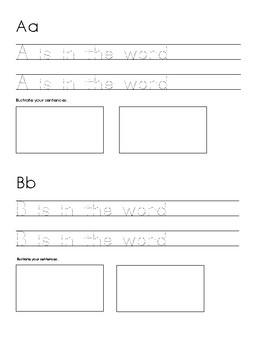 My ABC Book (No Prep)