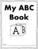 My ABC Book:  An Alphabet Coloring Book