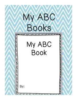 My ABC Book--DIFFERENTIATED!