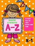 My ABC Book / Draw & Write The Alphabet Workbook (a-z lett
