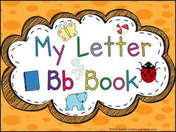 My ABC Book: The Letter B