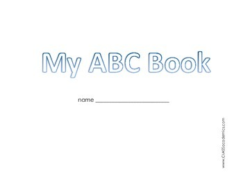 My ABC Book * Letter Book