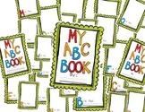 My ABC Book-PreK/Kinder
