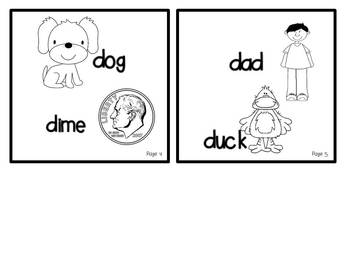 My ABC Book: The Letter D