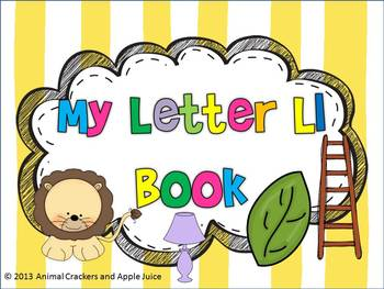 My ABC Book: The Letter L