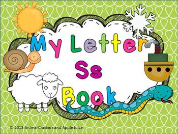 My ABC Book: The Letter S