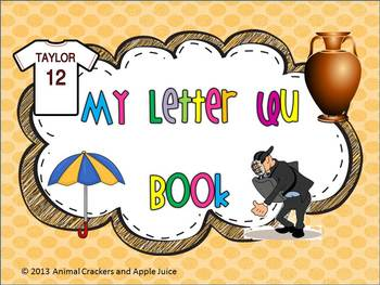 My ABC Book: The Letter U