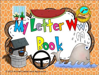 My ABC Book: The Letter W