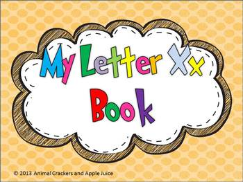 My ABC Book: The Letter X